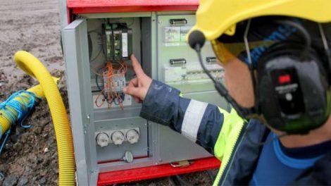 En elektriker på Tyresö